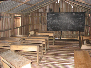 A typical classroom in Nzulesu